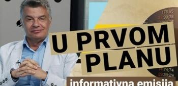 Emisija U PRVOM PLANU / DIADORA TV