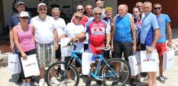 14. biciklijada Zadar - Vir donijela sreću Slovencu Papešu